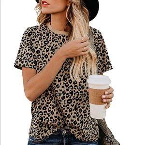 Tops - Women's Leopard Print Top. Sizes Small- 3XL.